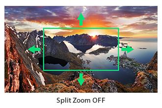 Split Zoom